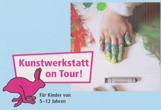 Kunstwerkstatt on Tour