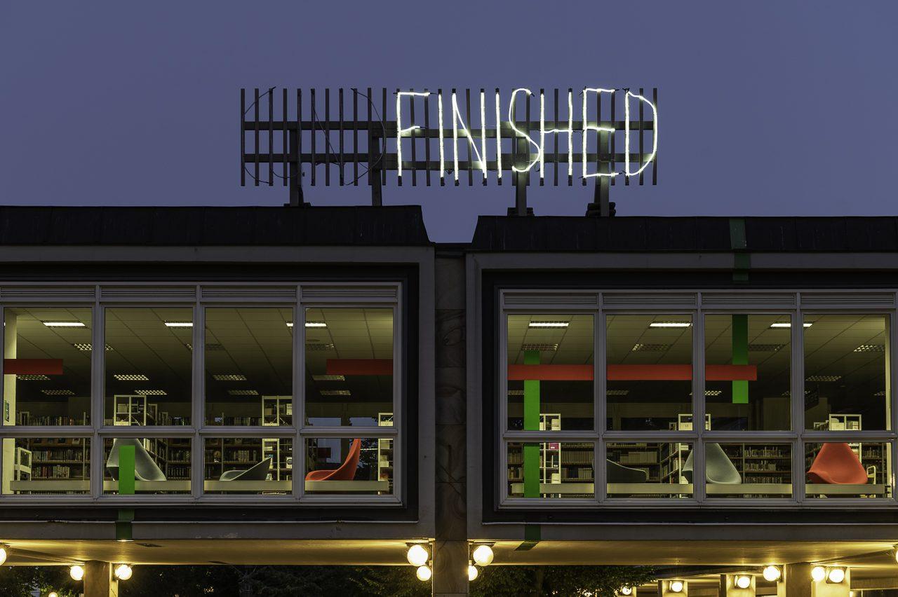 Mischa Kuball. (Un) finished. Photo: Angela von Brill